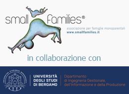 Università di Bergamo insieme con Smallfamilies: un progetto per le famiglie a geometria variabile